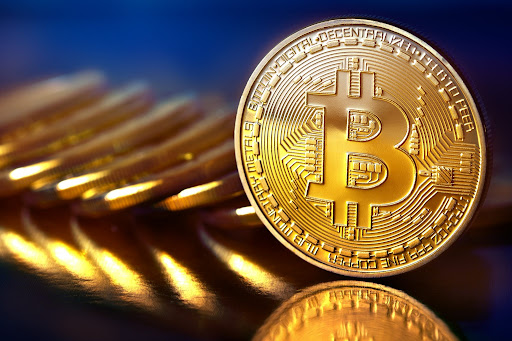 Bentuk fisik aset kripto Bitcoin
