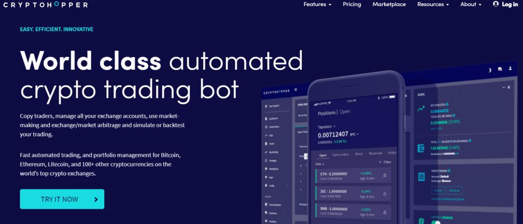 Cryptohopper Crypto Trading Bot