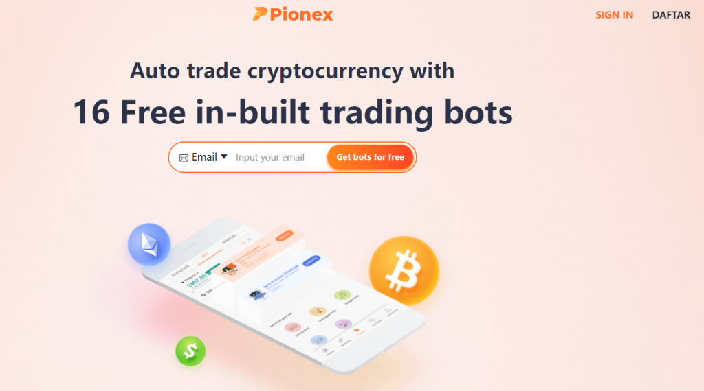 Pionex Crypto Trading Bot